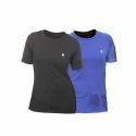 Woman Zeven's Round Neck Modern Gym T-Shirt