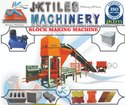 Automatic Interlocking Floor Tiles Machine