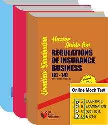 Combo C : Licentiate Exam Guide Books & Online Mock Test (General Insurance Papers)