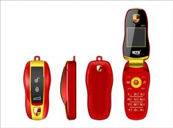 MTR Key Car Mobile Phone (Red-Gold)