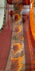 Ligalz Presents Chiffon Saree With Blouse