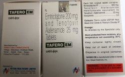 Tafero Em Tab Emtricitabine & Tenofovir Alafenamide