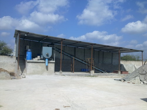 Manual CLC light Weight Brick Machinery, Capacity: 1000-1500 Blocks per hour