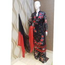 Printed Palazzo Suit
