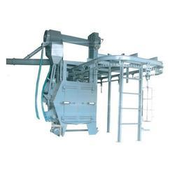 Hanger Type Single Door Shot Blasting Machines