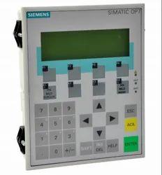 Siemens HMI 6AV3607-1JC20-0AX1 Operator Panel OP7/DP LC Display 6ES7272-0AA30-0YA0 TD200