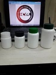 Tablet Containers with Screw Caps