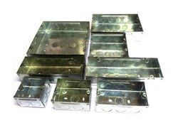 Square GI Electrical Modular Box