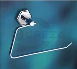 Dureza Chrome Napkin Ring, For Bathroom Fitting