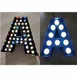 Metal LED Letter