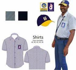 Half sleeves Petrol Pump Regular Uniform