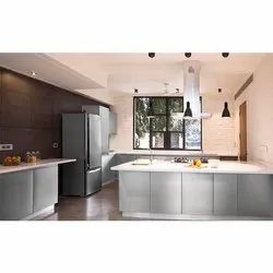 Residential Metal Modular Kitchen