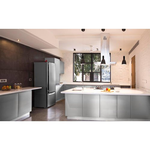 Residential Metal Modular Kitchen, Warranty: 1-5 Years