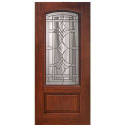 Fancy Wooden Glass Door