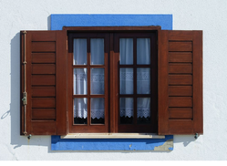 White Standard PVC Openable Windows