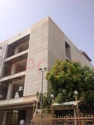 GRC Jali Installation