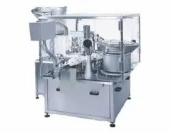 Automatic Rotary Type Eye & Ear Drop Filling With Inner Plugging Machine