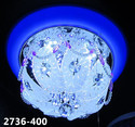 Crystal Hanging Chandelier, Shape: Round