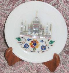 Taj Mahal Inlay Plate