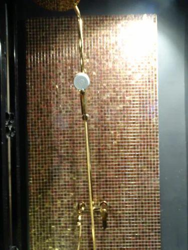 Glass Mosaic Gloss Bathroom Glass Wall Tiles Rs 2000 Sft Aamphaa Projects Id 3600121448