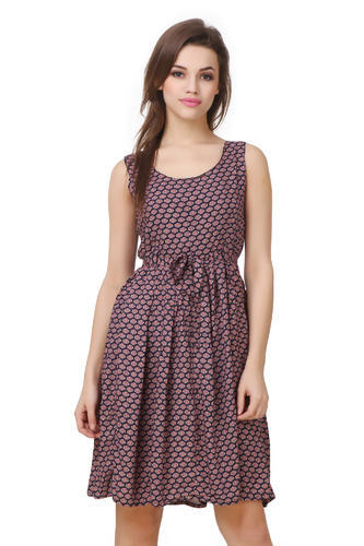 55d1071b7081 Casual Wear Printed Cotton Floral Print Short Dress, Rs 355 /piece ...