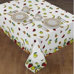 Leaf Print Table Cover