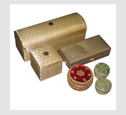 Golden Wedding Gift Boxes