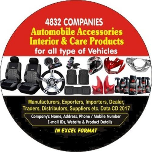 Automobile Accessories Interior & Car Roduct Companies Data