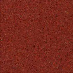 Polished Slab Lakha Red Granite, Flooring, Thickness: 16 mm