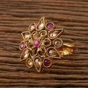 Women Finger Ring Antique Classic Ring With Gold Plating 23090