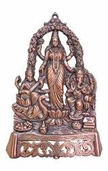 Laxmi, Ganesh & Saraswati Plate Big