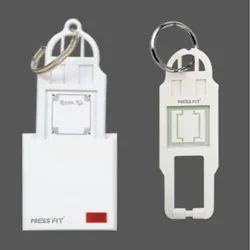 Press Fit 32 Amp D.P. Switch Key Tag