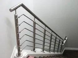 Stainless Steel Stairs Stair Case Railing, Floor