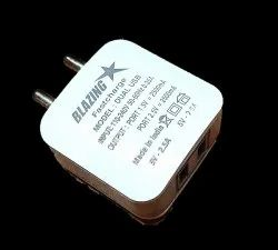 Blazing Star White Fast Smartphones Charger 2.4 Ampere (USB)