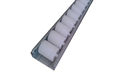Industrial Aluminum Conveyor Rollers With 85mm width