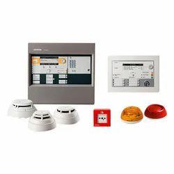 Siemens Fire Alarm Control Panel and Detectors