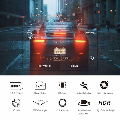 Wifi Dual Full Hd Car Dash Camera Video Recorder Dvr Support 128gb Card Dual Simultaneous Recording