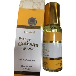 France Cuticura Arabic Perfume Spray, Packaging Size: 60mL