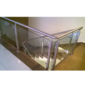 SS Transparent Glass Railing