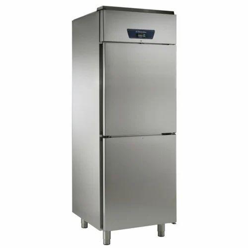 Stainless Steel Vertical Refrigerator, 100 L