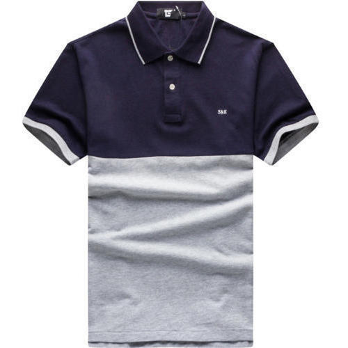 Mens Cotton Plain T Shirt