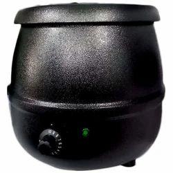 Black Mild Steel Electric Soup Handi