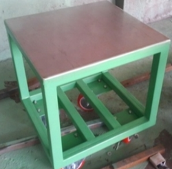 SS Top Trolley Type Table