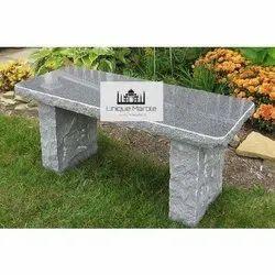 Rough Granite Bench