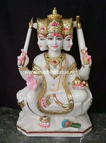 Marble Kartik Swami Statue