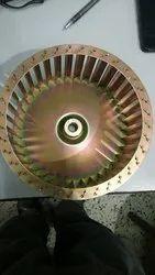 Aluminum Double Inlet Impeller