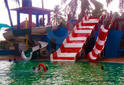 Frp Combination Water Park Slide, Age Group: Above 5 Years