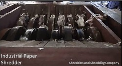 Industrial Size Paper Shredder
