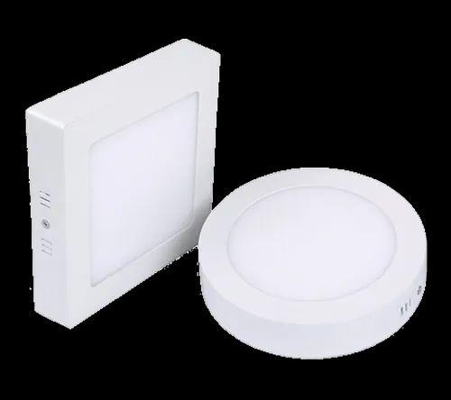 Zensta LED Surface Panel Light, Shape: Round