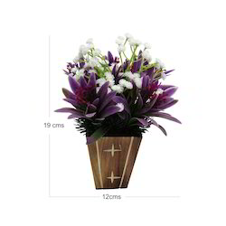 D1245 Artificial Wild Flower for Decoration, Packaging Type: Carton